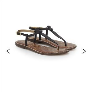Sam Edleman Black Sandals